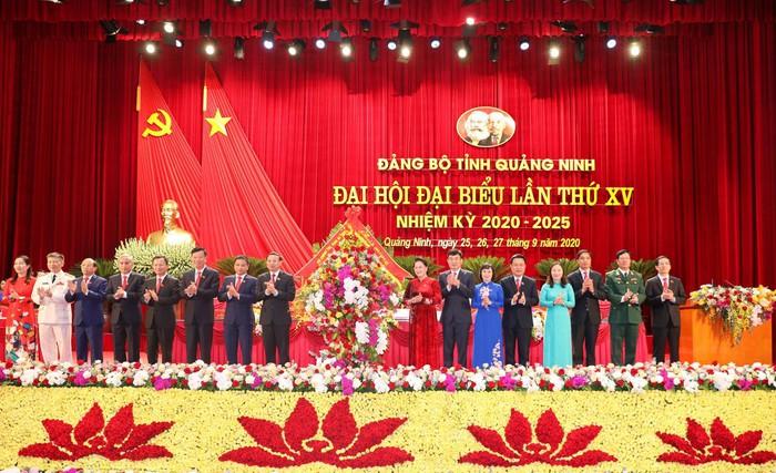 Các đại biểu dự Đại hội Đảng bộ tỉnh Quảng Ninh nhiệm kỳ 2020-2025. Ảnh: Báo Quảng Ninh.