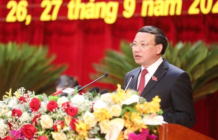 Bí thư Tỉnh ủy Quảng Ninh Nguyễn Xuân Ký. Ảnh: Báo Quảng Ninh.